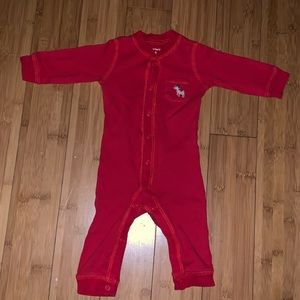 🌵2 for $15🌵Carter's Red Thermal Jumpsuit